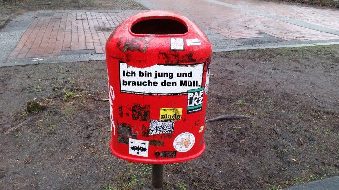 Stadtreinigung Hamburg: neue Mülleimer