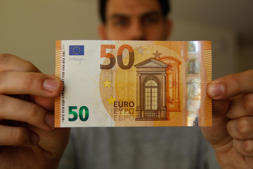Neue 50 Euro Scheine