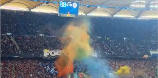 HSV-Fans zünden Pyrotechnik bei Spiel gegen Darmstadt 98