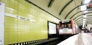 HVV: DT3-Züge Hamburg Linie U3