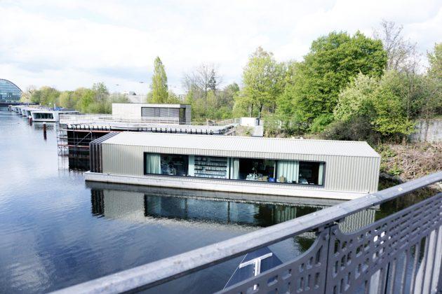 Büro von Architektin Amelie Rost am Victoriakai Ufer.