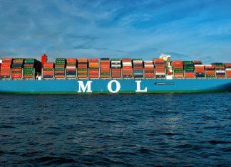 """Containerschiff """"MOL Triumph"""""""