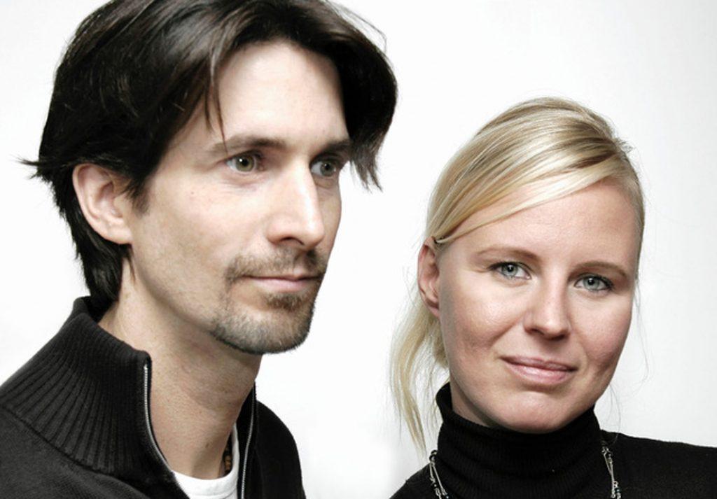 Die Hausboot-Architekten Amelie Rost und Jörg Niderehe