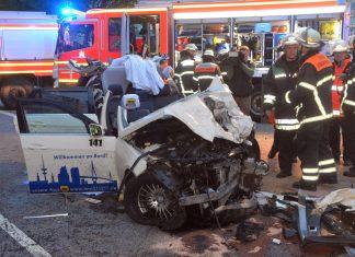 Feuerwehr Ballindamm Unfall Taxis