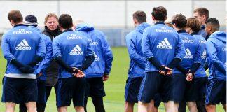 Training, HSV, Spieler, Gisdol