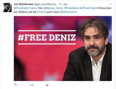 """Dem """"Welt""""-Korrespondentn Deniz Yücel wird unter anderem Propaganda einer terroristischen Vereinigung vorgeworfen"""