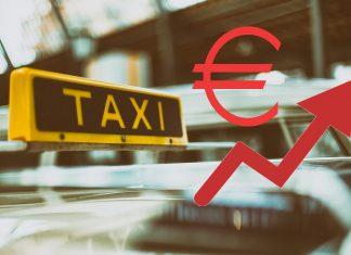 Preiserhöhung:: Die Hamburger Taxitarife steigen im Durchschnitt um 6,7 Prozent.