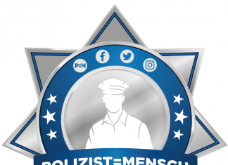 Polizist Mensch Logo G20