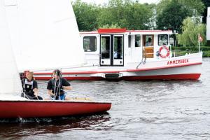 Alsterschiffe Segler Außernalster Hamburg