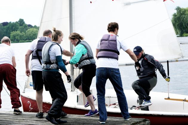 HAW-Segelteam Alstercup