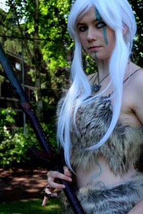LARP Kostüm Droidin