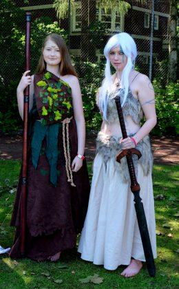 LARP Kostüm Droiade und Droidin