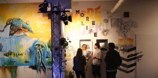 Viel Platz für Kunst gibt es ab Donnerstag in der Millerntor Gallery. Foto: Lesley-Ann Jahn