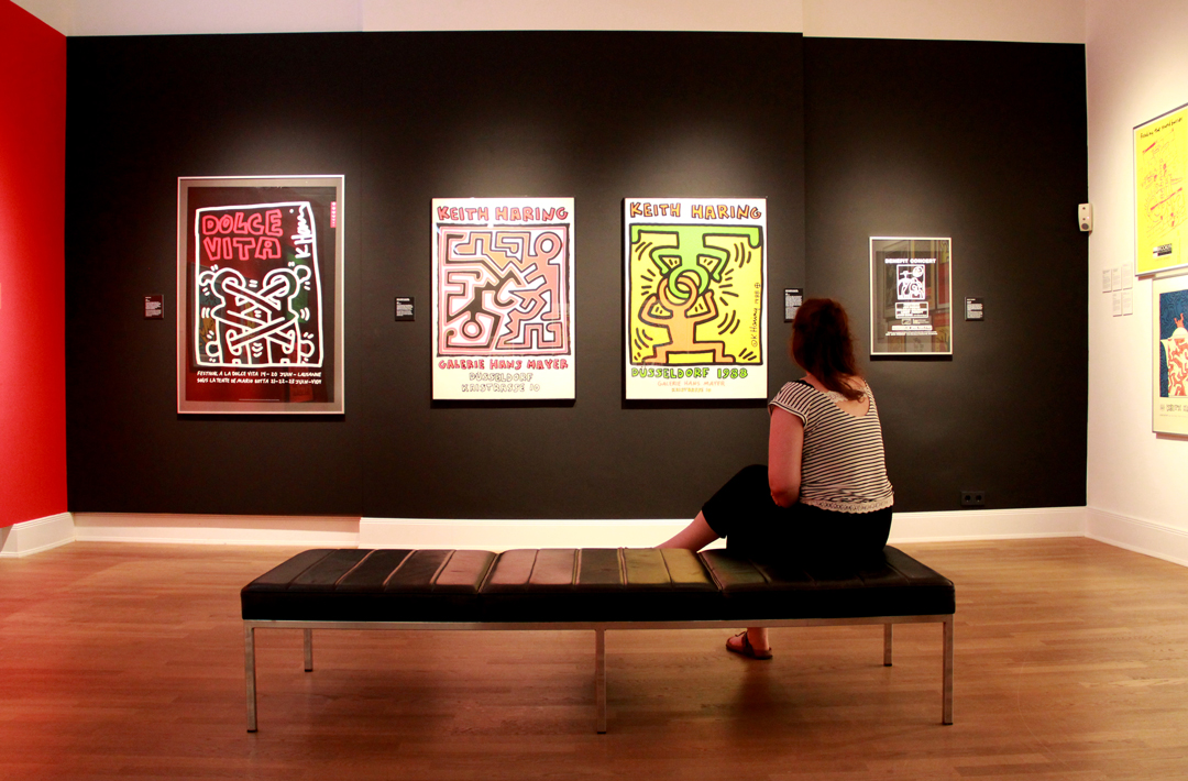 Keith Haring Poster MKG Hamburg Kulturtipp