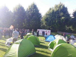 Protestcamp Volkspark Altona
