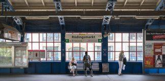 HVV Rödingsmarkt Hamburg U Bahn