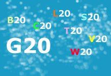 Die offiziellen Beteiligungsgruppen zum G20-Gipfel. Grafik: Agata Strausa