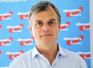 Bernd Baumann, Hamburger Spitzenkandidat der AfD.
