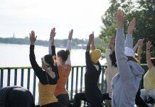 Yoga-Gipfel G20 Hamburg