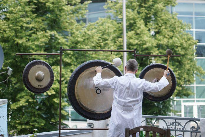 Hamburg G20 Klanginstallation Karoviertel
