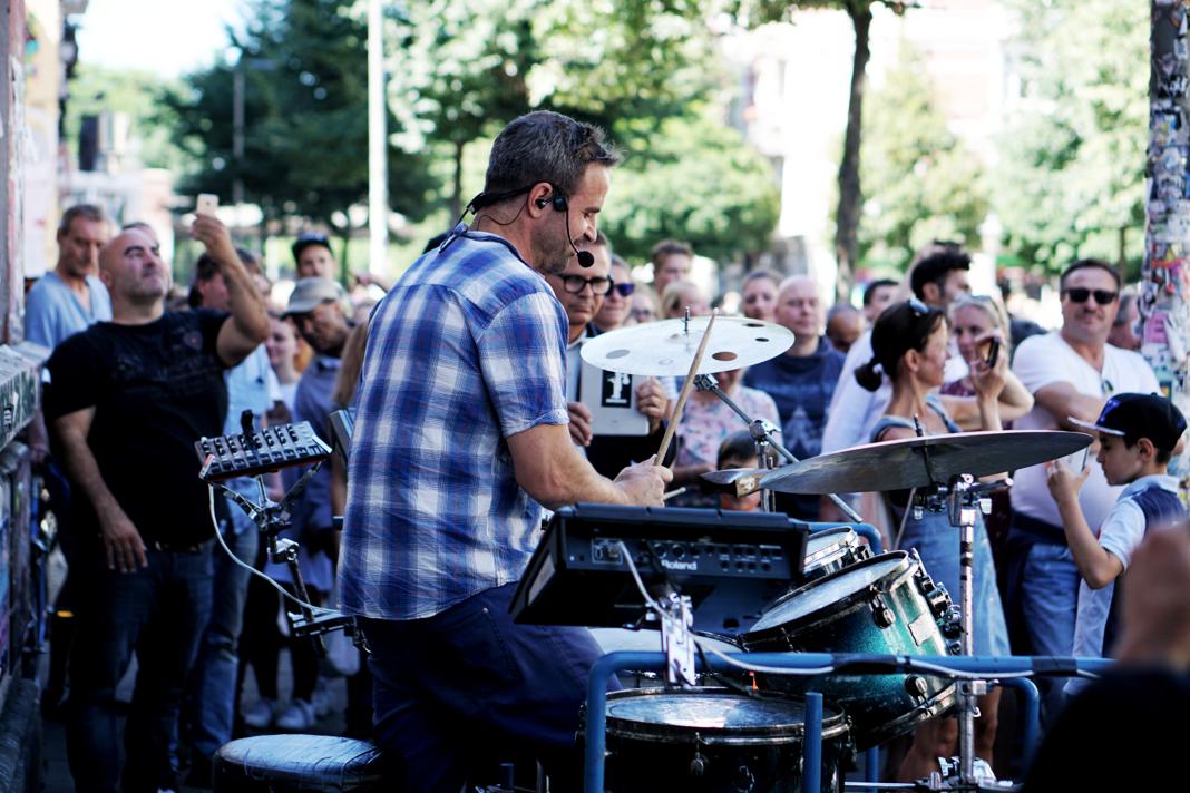 Hamburg räumt auf Schanze G20 Musik Schulterblatt