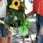 Hamburg räumt auf Schanze G20 Blumen pflanzen
