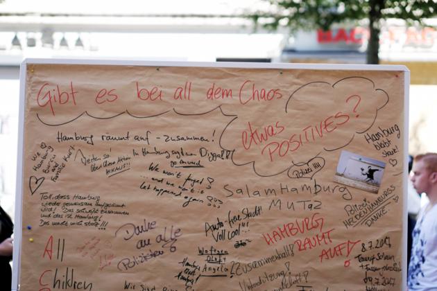 """Aktion """"Hamburg räumt auf"""". Foto: Laura Lagershausen."""