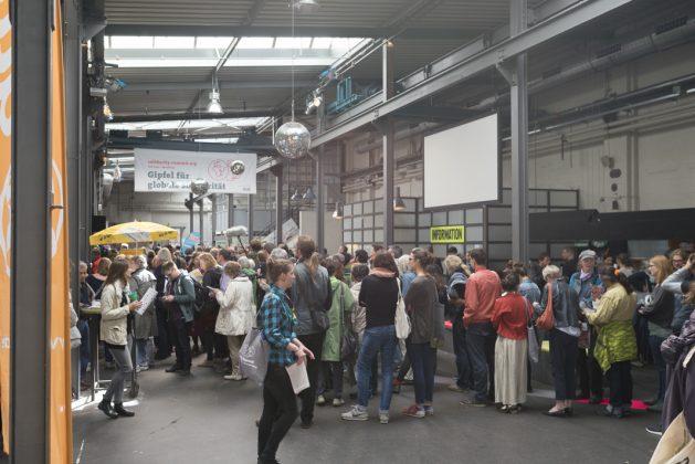 G20 Hamburg 05072017 solidarity summit Gipfel für globale Solidarität Kampnagel