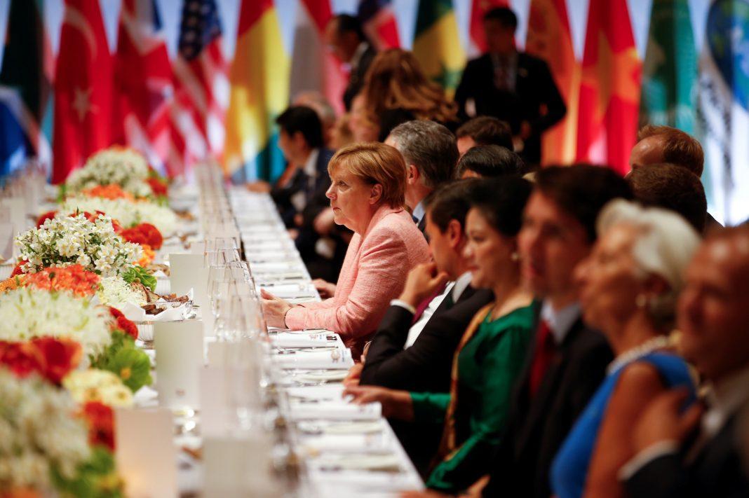 G20 Abendessen Hamburg Elbphilharmonie