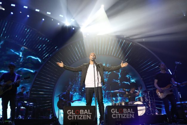 Global Citizen Festival in der Barclaycard Arena. Foto: Georg Wendt/dpa