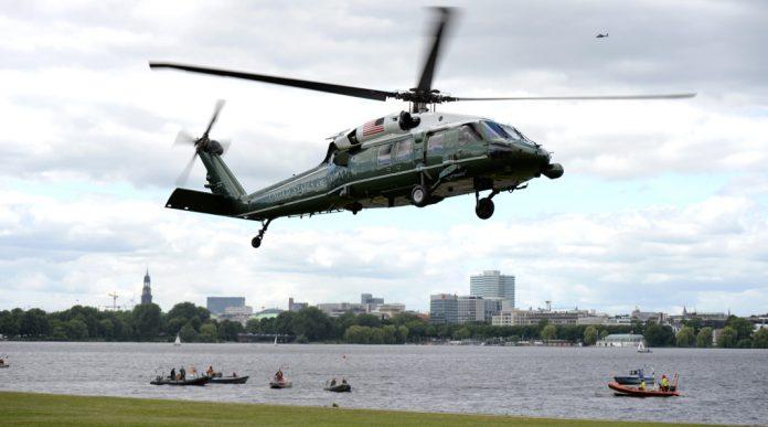 Hubschrauber der US-Marine