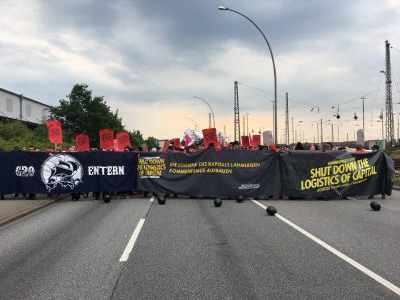 Block entern am Veddeler Damm. Foto: Harriet Dohmeyer