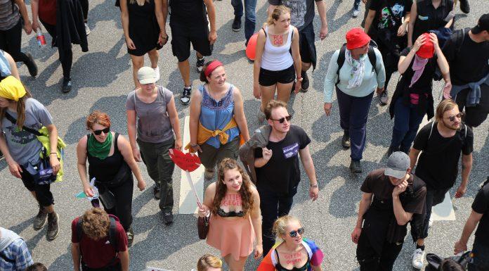 """Bildungsstreik """"Jugend gegen G20"""""""