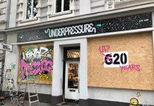 Läden in der Schanze werden verbarrikadiert