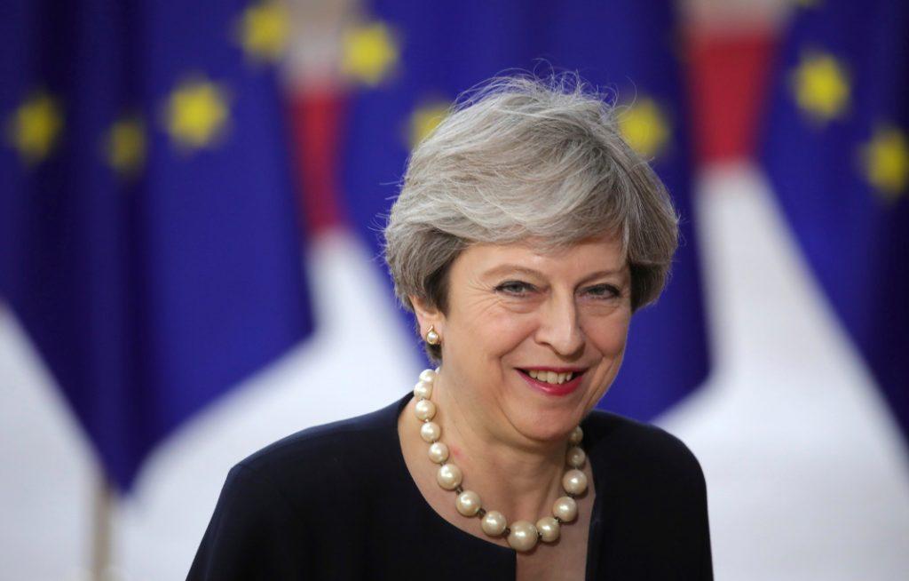 Theresa May (Großbritannien). Bild: dpa