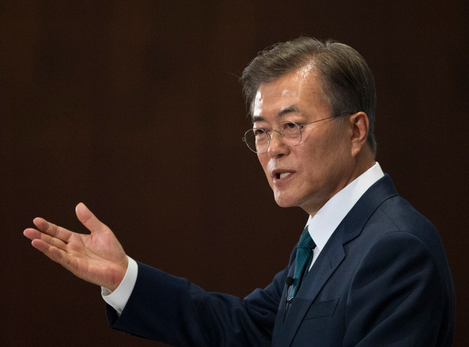 Moon Jae In (Südkorea). Bild: dpa