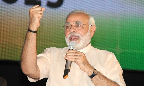 Narendra Modi (Indien). Bild: Global Panorama (Link: https://www.flickr.com/photos/121483302@N02/)