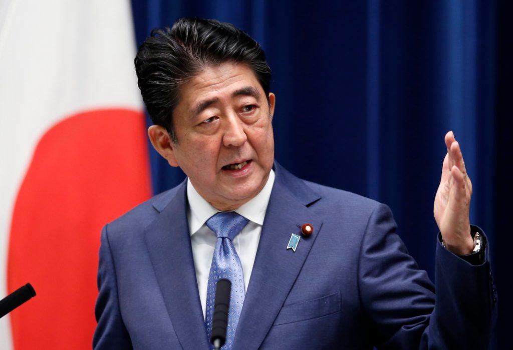 Shinzo Abe (Japan). Bild: dpa