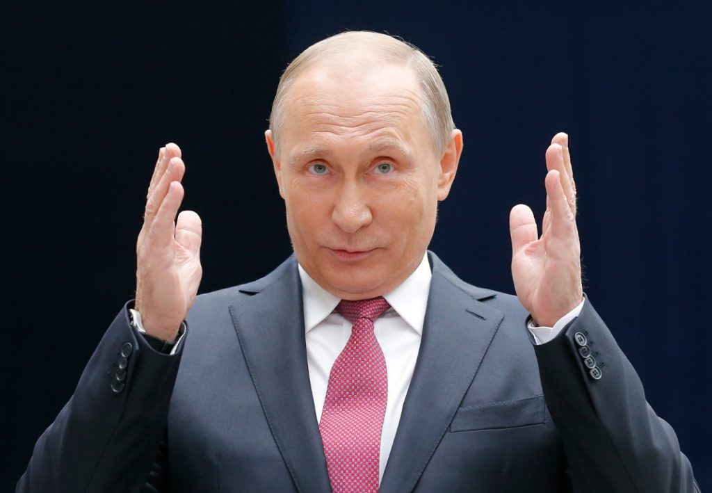 Wladimir Putin (Russland). Bild: dpa