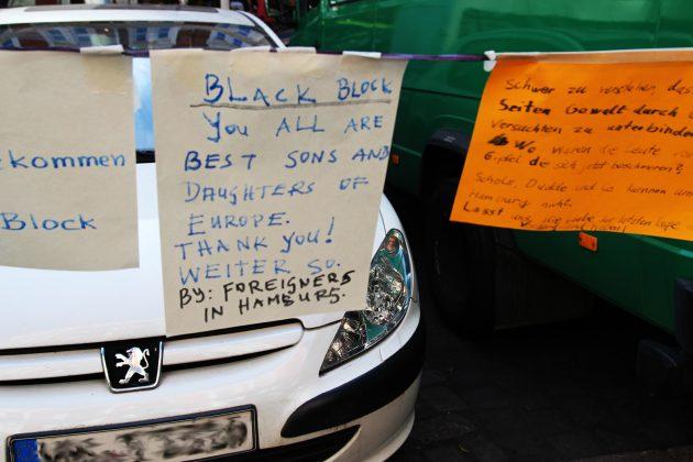Sympathie für den schwarzen Block