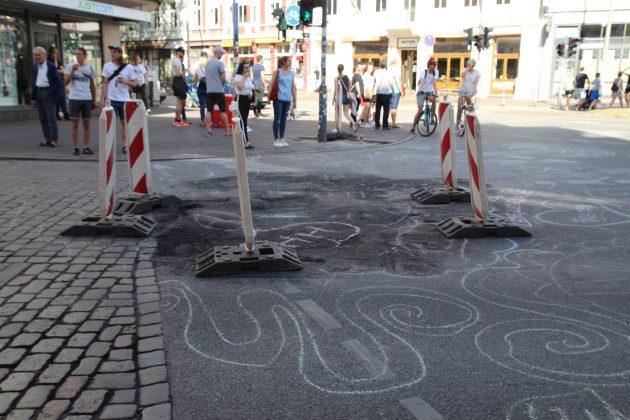 """Aktion """"Hamburg räumt auf"""". Foto: Christina Höhnen."""