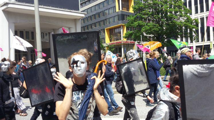 """Demonstration """"G20 Protestwelle"""". Foto: Martin Tege"""