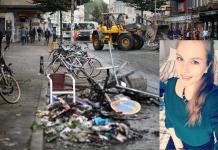 """Die """"Hamburg räumt auf"""" Aktion von Initiatorin Rebecca Lunderup."""