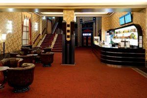 Das Foyer des Passage Kinos. Foto: Lochmann Filmtheaterbetriebe
