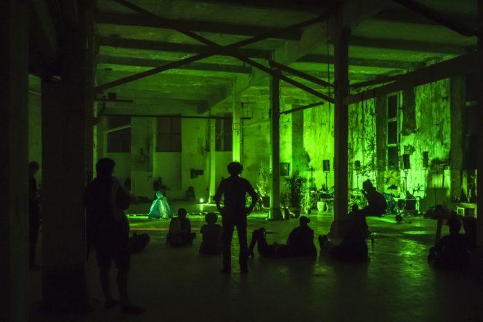 Hallo Festspiele im Kraftwerk Bille in Hammerbrook. Foto: Pelle Buys