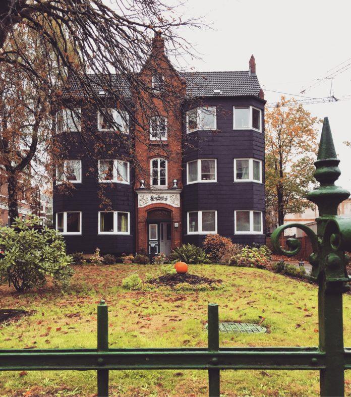 Stifthaus an der Frickestraße. Foto: Agata Strausa