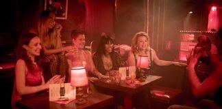 Prostituierte in einem Rotlicht-Club