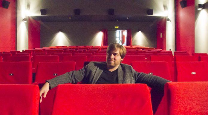 Nick Jansen in seinem Studio-Kino in St. Pauli.