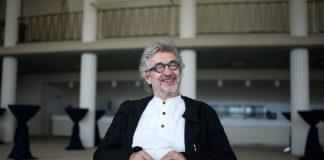 "Der Regisseur Wim Wenders ""Der Himmel über Berlin"""
