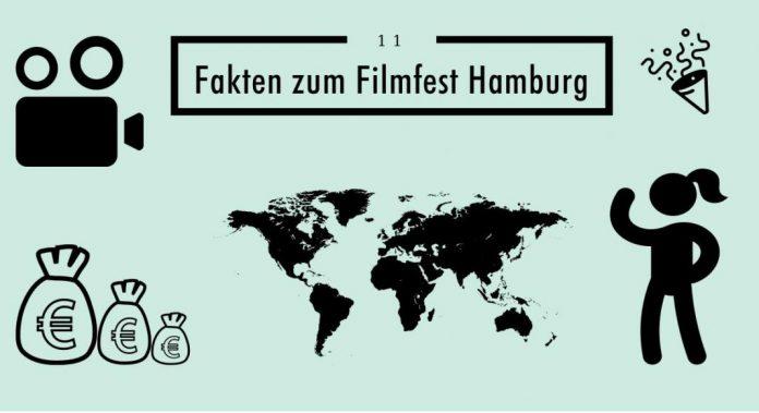 Grafik: 11 Fakten zum Filmfest Hamburg